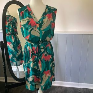 Summer dress with detached slip to match, so nice